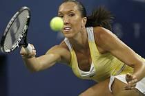 Jelena Jankovičová ve finále US Open.