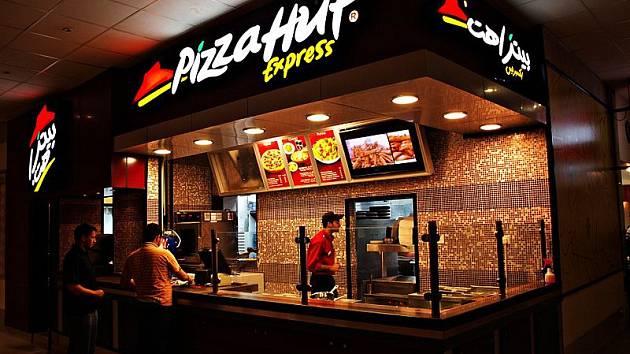 Pobočka amerického řetězce Pizza Hut