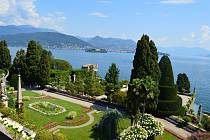 Terasovité zahrady na Isola Bella