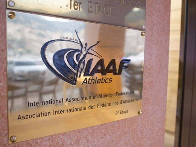 Logo Mezinárodní atletické federace IAAF.