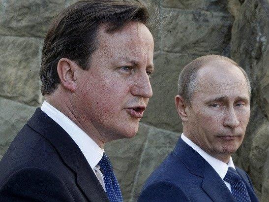 James Cameron a Vladimír Putin