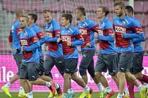 Čeští fotbalisté pilují formu na Nizozemce.