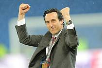 Trenér Sevilly Unai Emery.