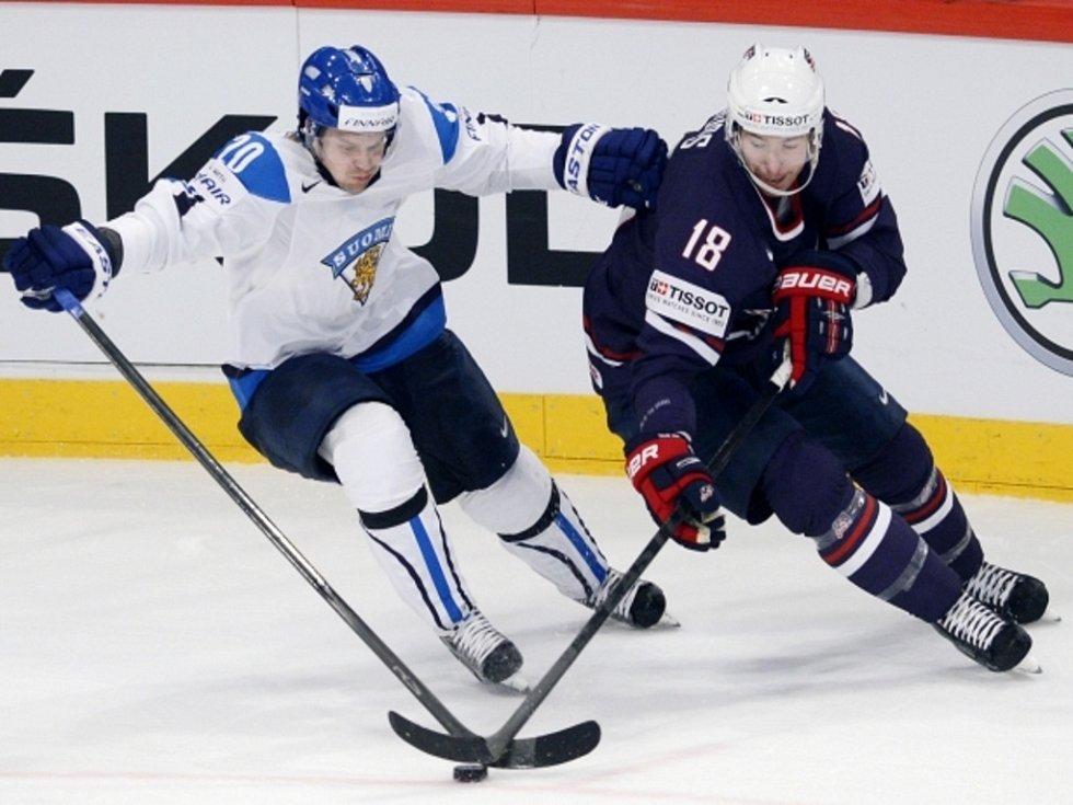Janne Pesonen z Finska (vlevo) a David Moss z USA.