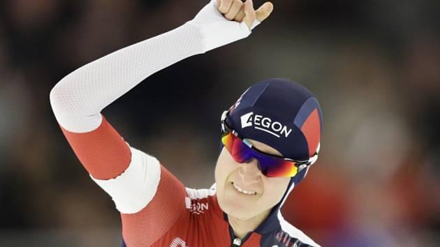 Martina Sáblíková kralovala mistrovství světa ve víceboji.