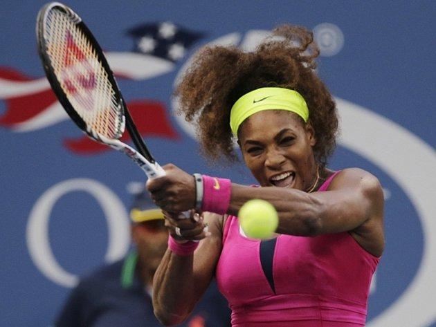 Serena Williamsová v semifinále US Open.
