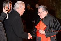 Miloš Zeman a Dominik Duka