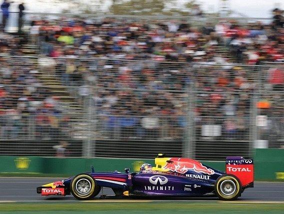 Red Bull a Daniel Ricciardo v Austrálii