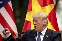 Americký prezident Donald Trump v jihovýchodní Asii
