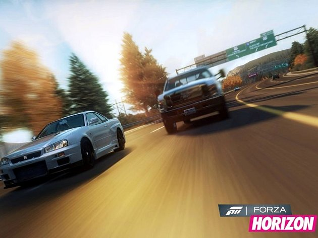 Počítačová hra Forza Horizon.