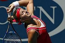 Česká tenistka Petra Kvitová na US Open vyhořela.