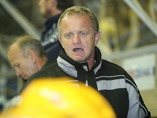 Trenér hokejistů Brna Zdeněk Venera.