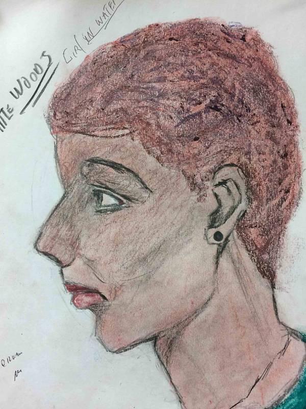 Ženy beze jména. Vrah Samuel Little pro FBI nakreslil portréty žen, které údajně zabil. Agentura zveřejnila obrázky v naději, že se jim osoby na nich podaří identifikovat. Tuto ženu Little prý zabil v roce 1982.