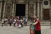 Turisté na Kubě. Ilustrační foto.