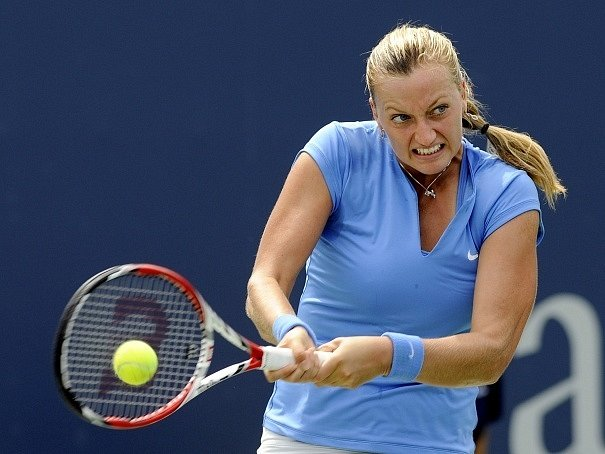 Petra Kvitová na turnaji v New Havenu titul neobhájila.