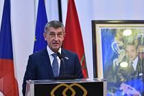 Český premiér Andrej Babiš na návštěvě Maroka