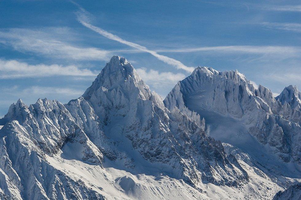 Mont Blanc z francouzské strany