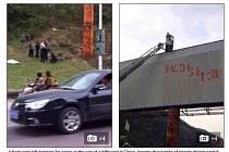 Sebevraha visícího na billboardu si několik let nikdo nevšiml.