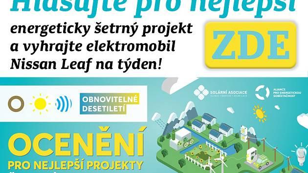 Hlasujte pro nejlepší energeticky šetrný projekt