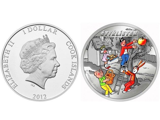 Populární kreslené postavičky Myšpulín, Bobík, Fifinka a Pinďa se dostaly na mince. Raritním platidlem, které na jedné straně zobrazuje britskou královnu a na druhé oblíbenou komiksovou čtveřici, je možné skutečně platit - na Cookových ostrovech.