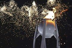 Plamen hoří. Zimní olympijské hry v Pchjongčchangu byly zahájeny.
