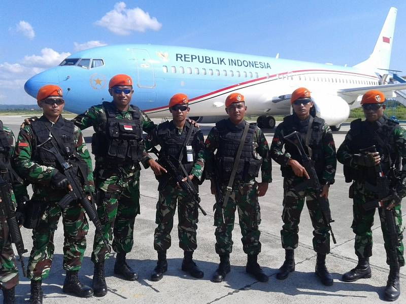 Oběťmi leteckého neštěstí z roku 1991 se stali zejména příslušníci speciálních indonéských vzdušných sil, takzvané oranžové barety (ilustrační foto)
