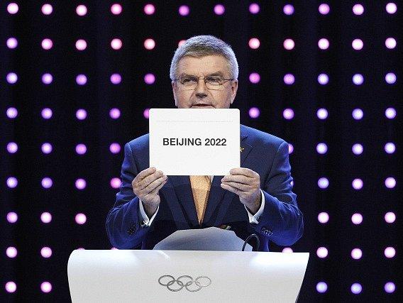 Olympiádu v roce 2022 uspořádá Peking