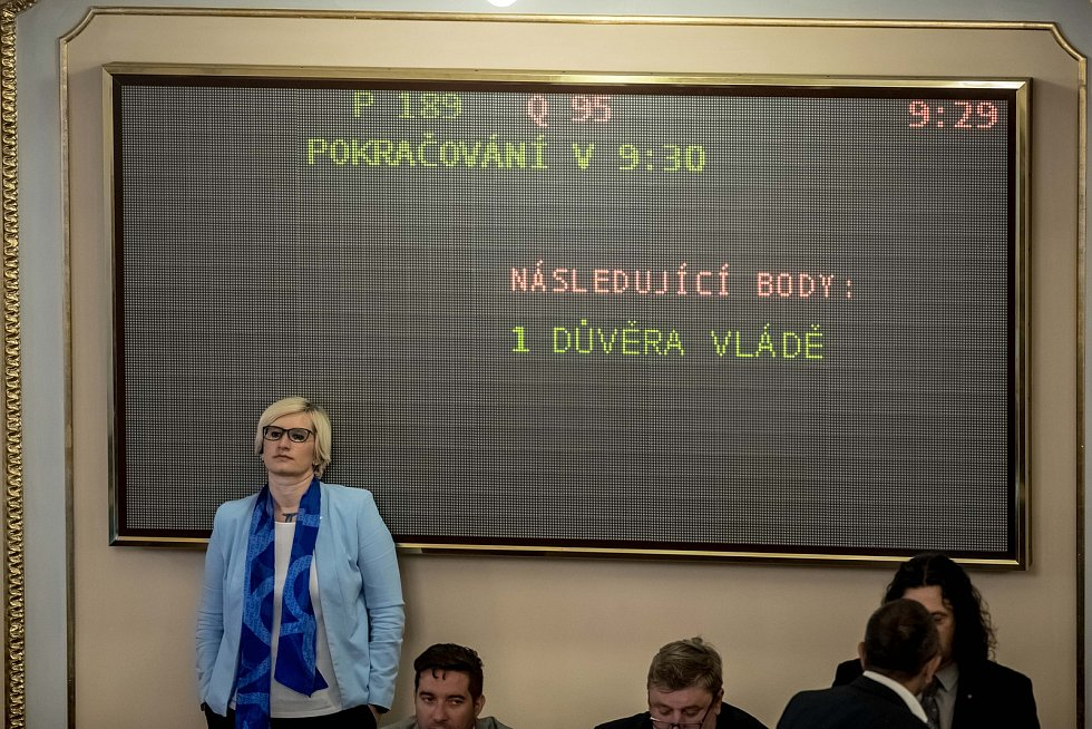 Hlasování o důvěře vlády Andreje Babiše 11. července v Poslanecké sněmovně v Praze.