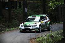 Jan Kopecký vyhrál Barum rally.