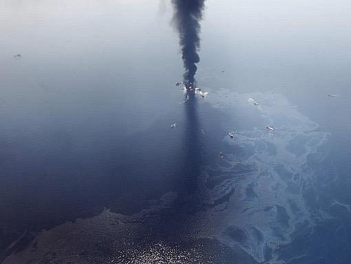 Ropná skvrna v Mexickém zálivu