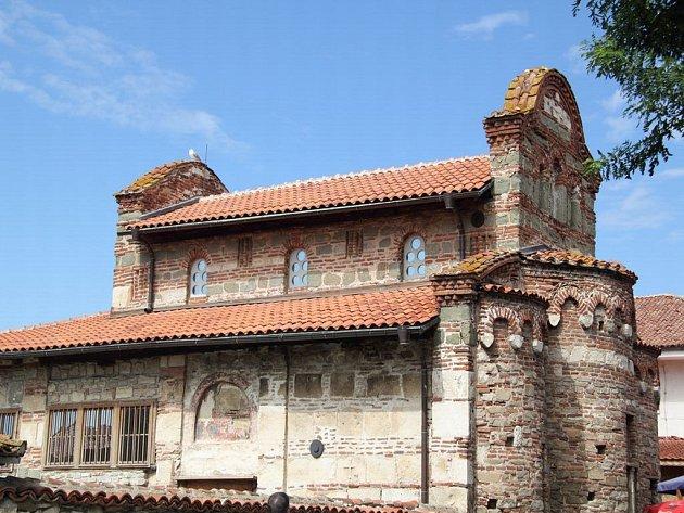 Zhruba třicet kilometrů na severovýchod od Burgasu leží městečko Nessebar i s tímto středověkým kostelem.