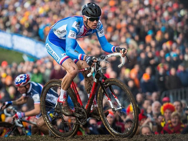 Zdeněk Štybar v páteční etapě závodu Critérium du Dauphiné vybojoval třetí místo.