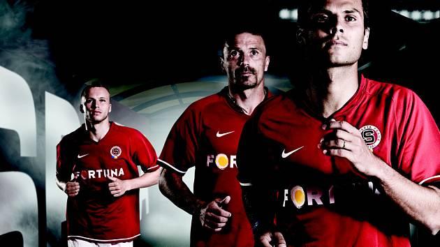 Fotbalová Sparta představila své dresy pro novou sezonu.