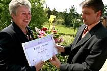 Ženou regionu Vysočina 2009 se stala bývalá starostka Brtnice Marie Kružíková.