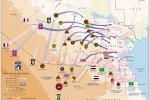 Koaliční a irácké jednotky rozmístěné v kuvajtském operačním prostoru