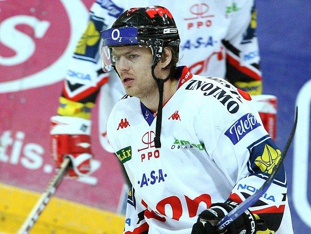 Hokejový útočník Roman Erat ještě v dresu Znojma