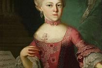 Maria Anna Mozartová, přezdívaná Nannerl. Starší sestra slavného Wolfganga Amadea Mozarta byla rovněž velmi talentovanou hudebnicí a možná i skladatelkou, doba jí ale nepřála.