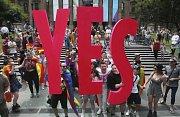 Austrálie řekla gayům ano.