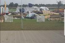 Bouře Ali zasáhla Britské ostrovy