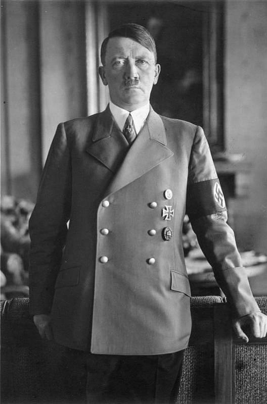 Nacistický vůdce Adolf Hilter v roce 1938.