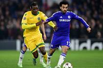 Chelsea - Sporting Lisabon: Mohamed Salah a William Carvalho
