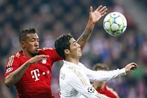 Úvodní semifinále Ligy mistrů mezi Bayernem Mnichov a Realem Madrid.