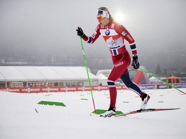 Běžkyně na lyžích Astrid Uhrenholdtová Jacobsenová.