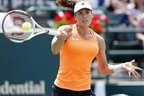 Andrea Petkovicová na turnaji v Charlestonu.
