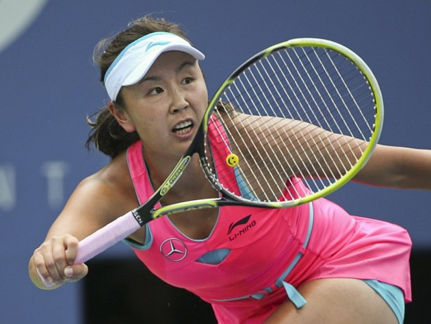 Pcheng Šuaj na US Open.