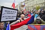 Demonstrace v Praze, 17. 11. 2020