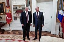 Donald Trump a Sergej Lavrov