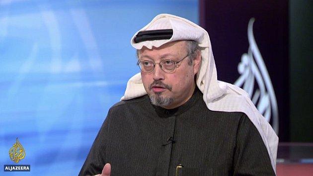 Saúdskoarabský novinář DžamálChášakdží