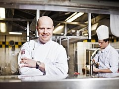 Šéfkuchař Roman Paulus z pražské restaurace Alcron.