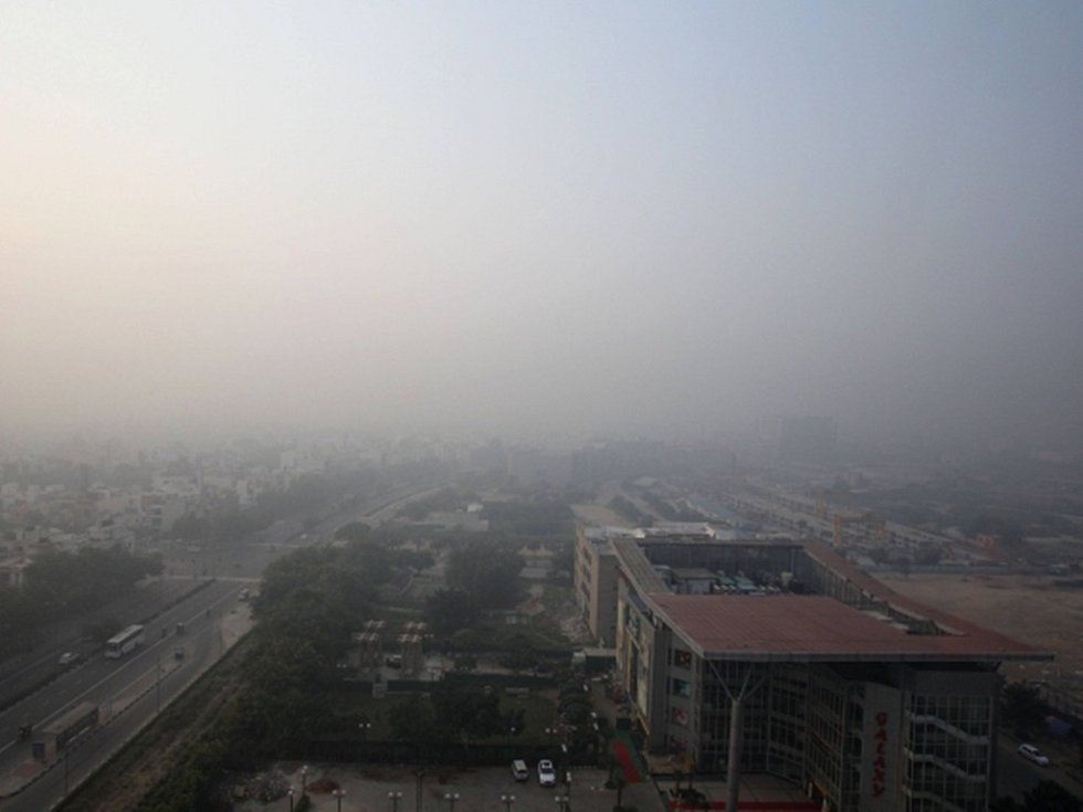 V Indii nepanovalo během VC právě 'zdravé' počasí.